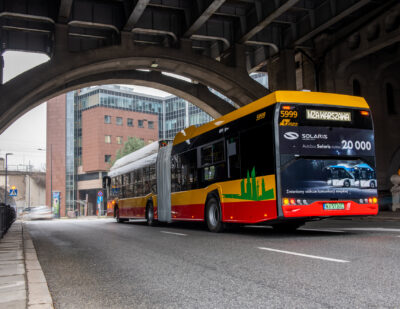 20,000th Bus Rolls off Solaris Production Line