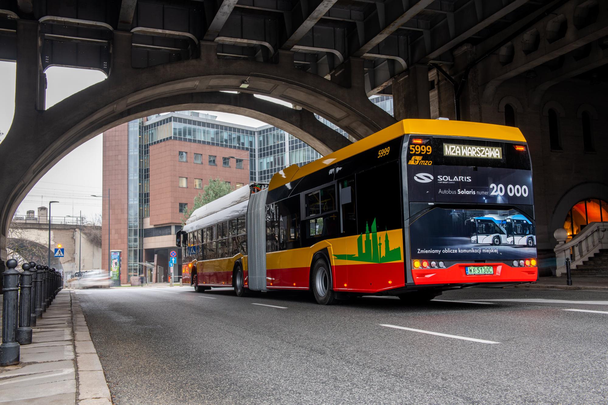 solaris 20,000th bus