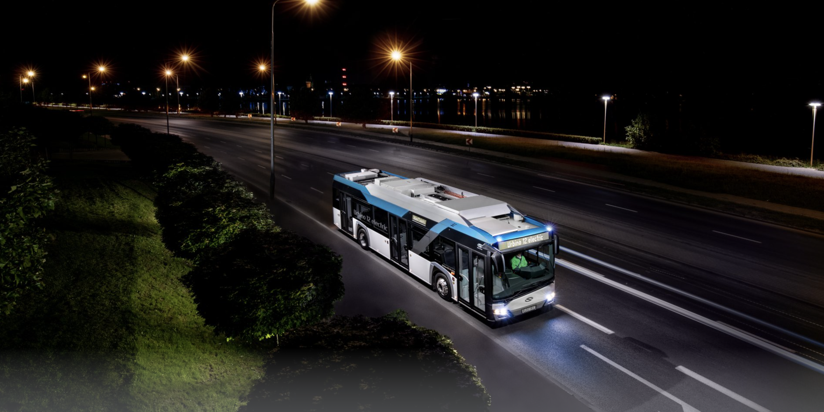 urbino electric bus Athens
