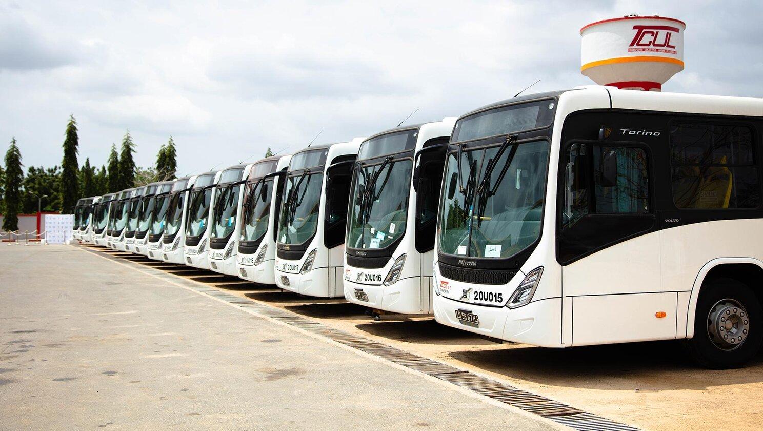 Volvo Buses angola luanda
