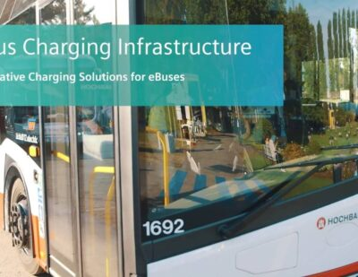 Innovative Charging Solutions for eBuses from Siemens
