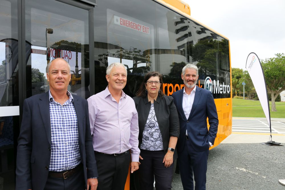 Auckland Transport electric fleet