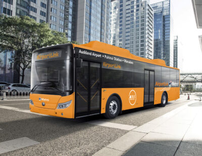Auckland Transport Launches New Electric AirportLink Fleet
