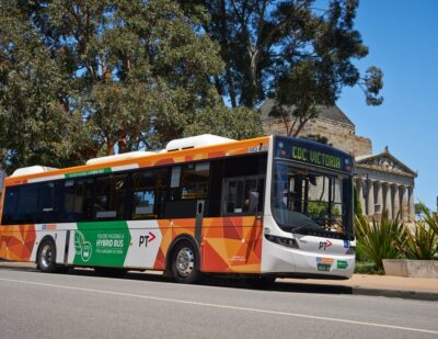 CDC Hybrid Buses Zone-in on Zero Emissions on Melbourne Streets