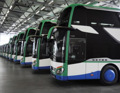 19 New Setra Buses for Geldhauser