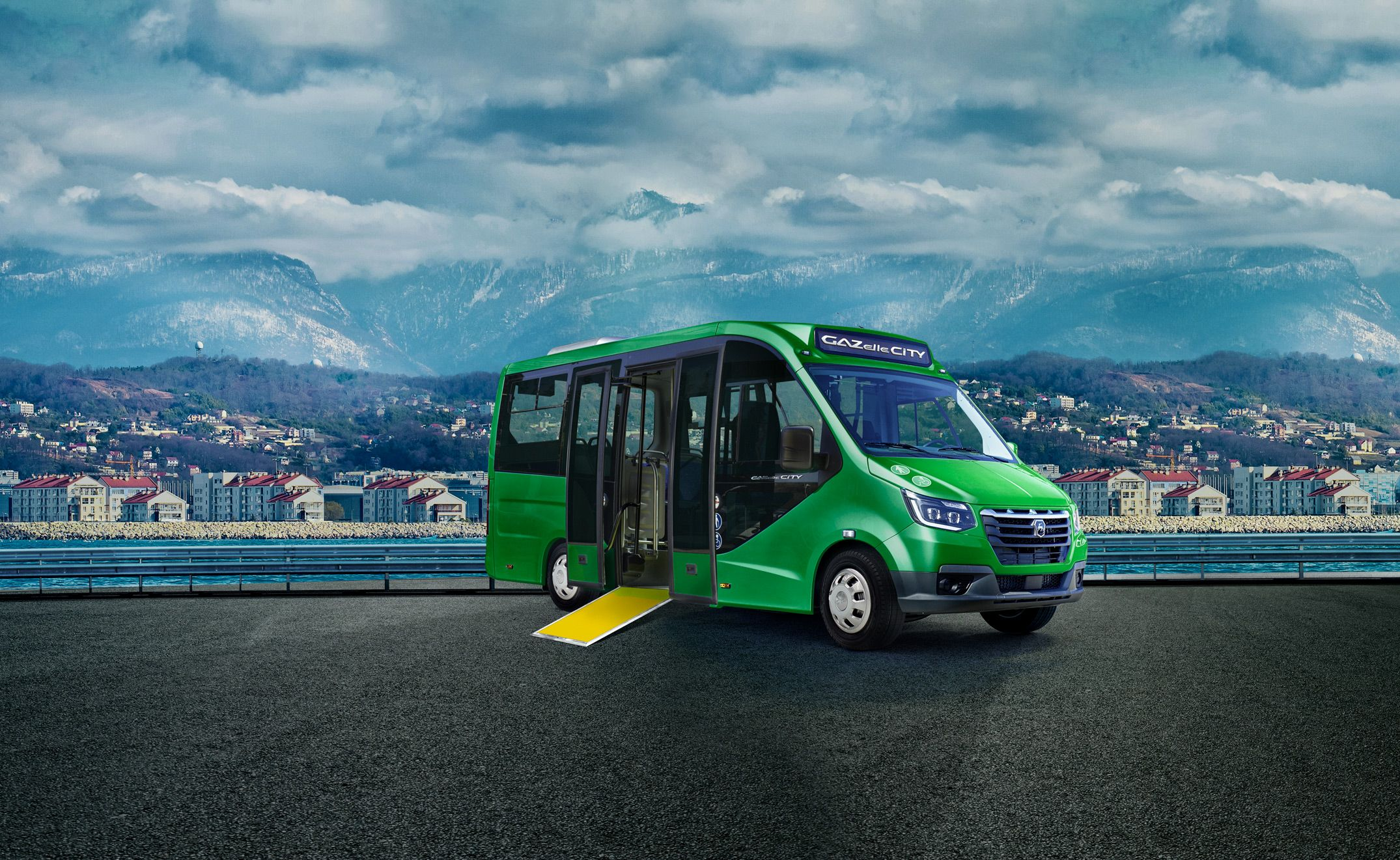 gazelle city commercial vehicle russia