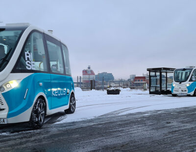 Keolis Trialling a New Autonomous Mobility Solution in Gothenburg