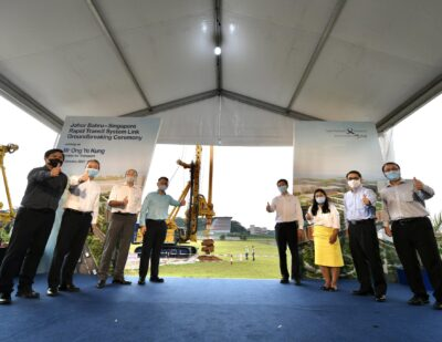 Groundbreaking Ceremony Held for Singapore RTS Link
