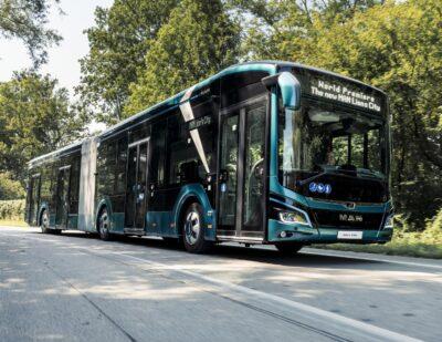 VAG Nuremberg Awards MAN Largest E-bus Order to Date