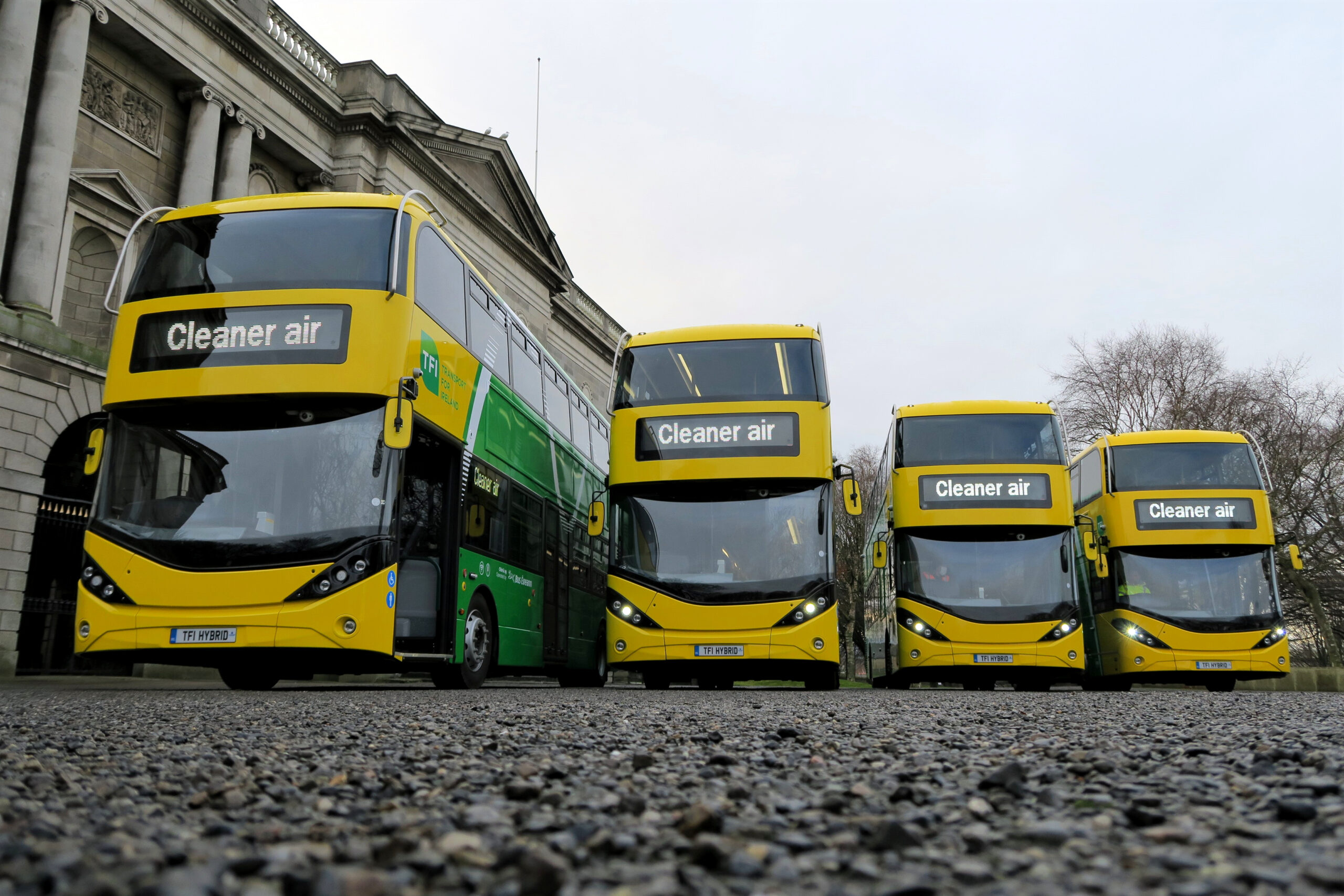 Emissions-Free Buses in Europe zero emissions