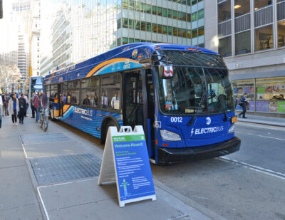 Governor Cuomo Announces Initiatives to Electrify Transit Buses in NY