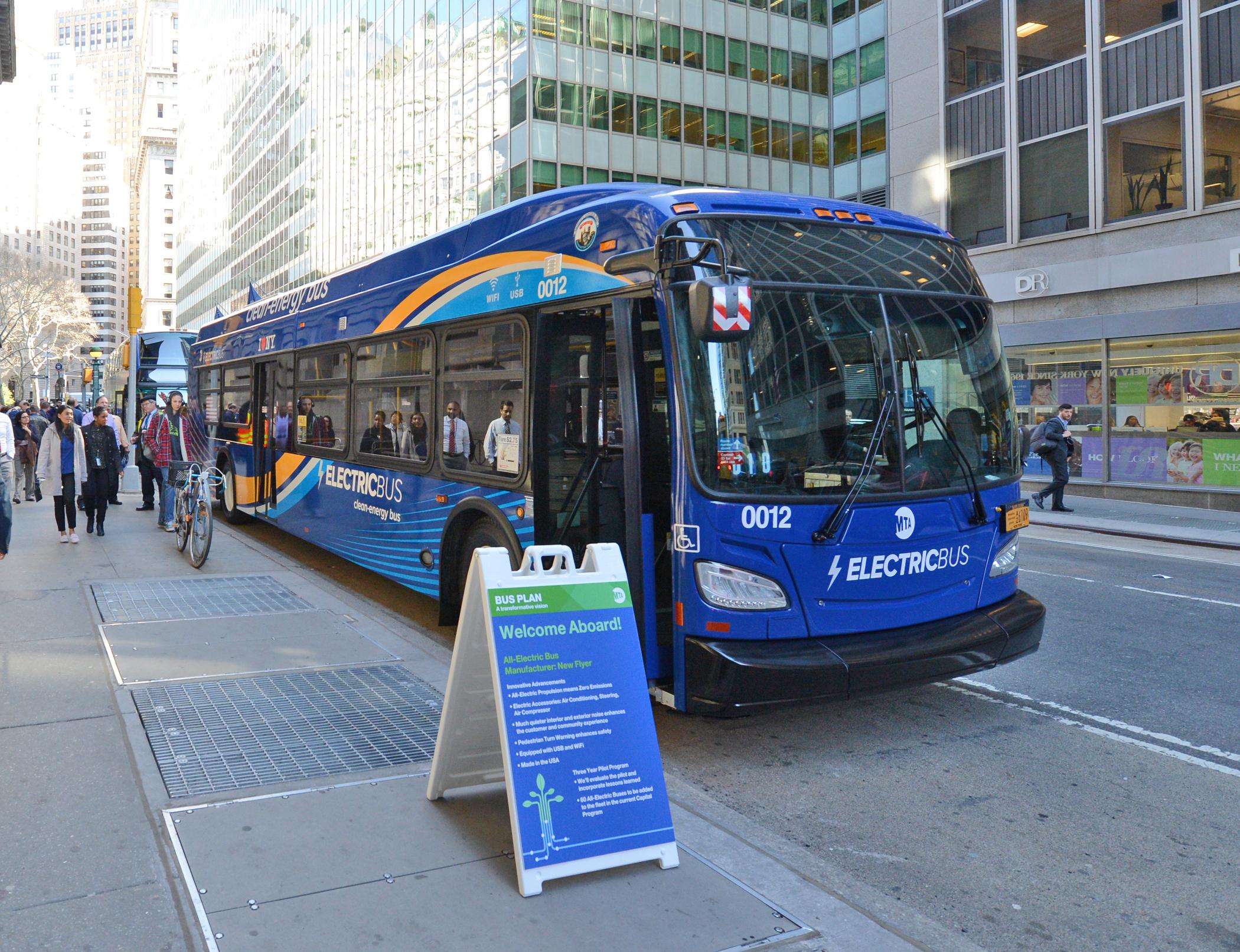 governor cuomo transit buses New York climate plan