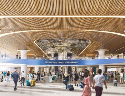 Port Authority Unveils New Plan for Midtown Bus Terminal