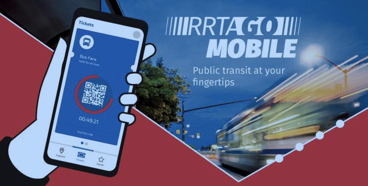 Rrta contactless payment Red Rose Transit Authority go mobile