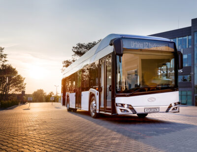 More Hydrogen Solaris Buses in the Netherlands