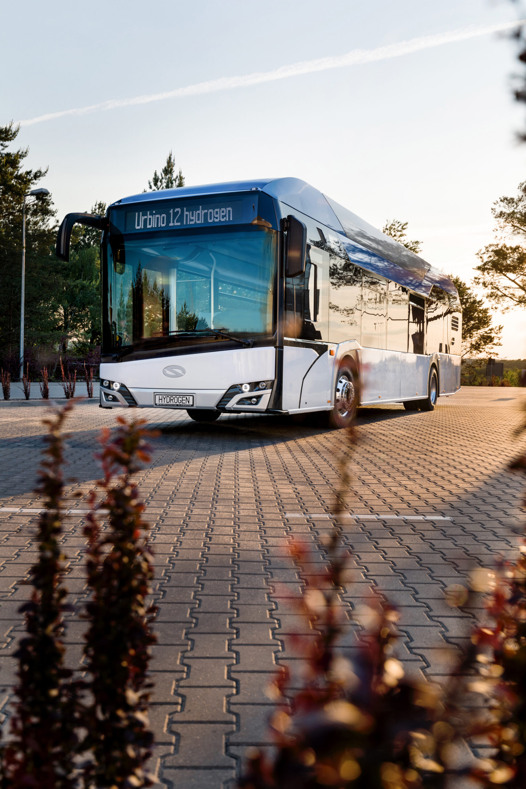 Hydrogen Solaris Buses the Netherlands