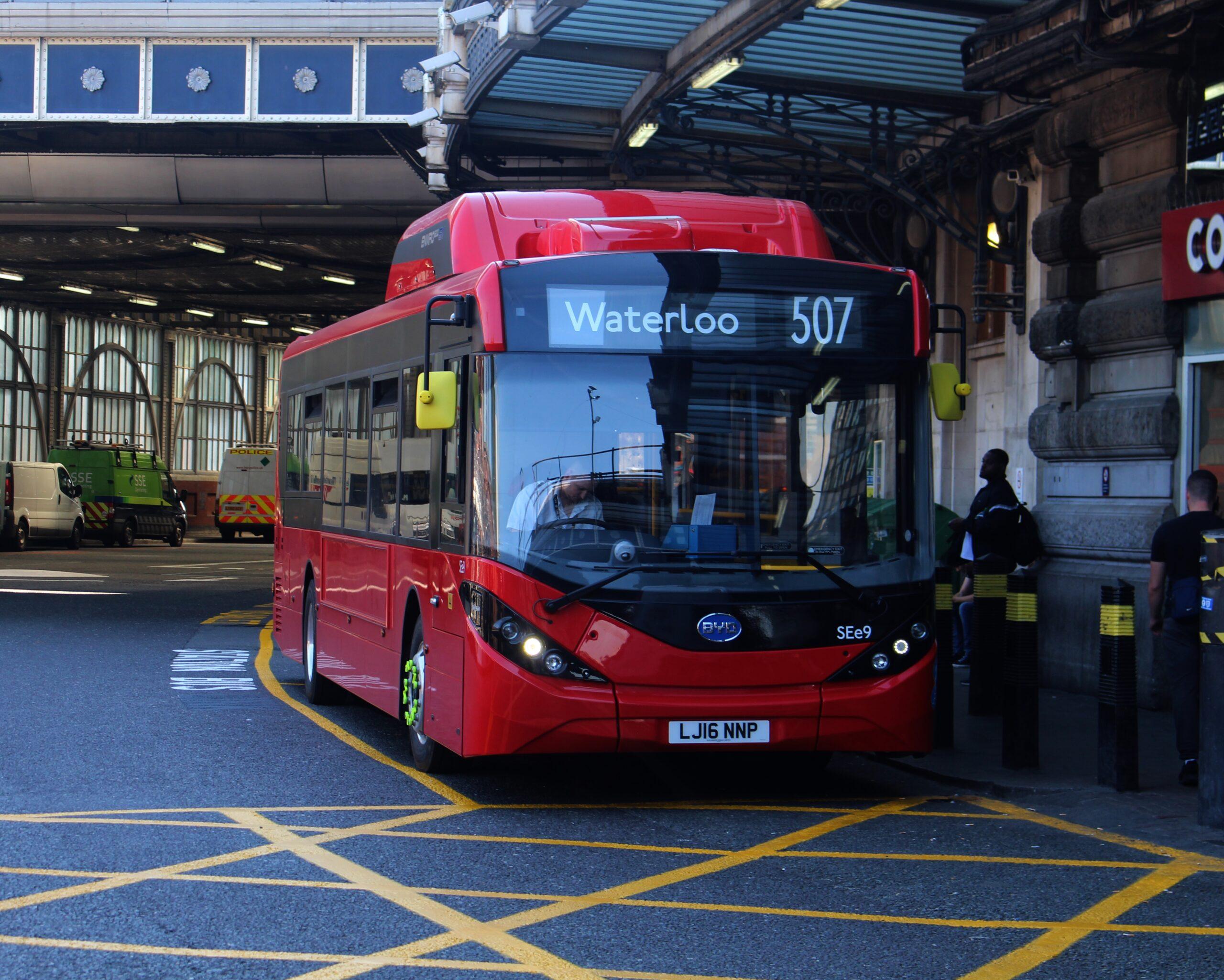 London buses ulez bus emissions