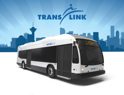 TransLink Selects Nova Bus for 15 LFSe+ Electric Buses for Vancouver