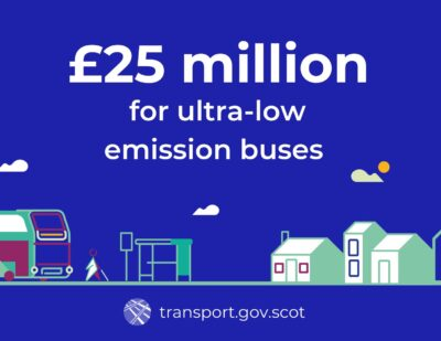Further Funding for Scottish Ultra Low Emission Bus Scheme