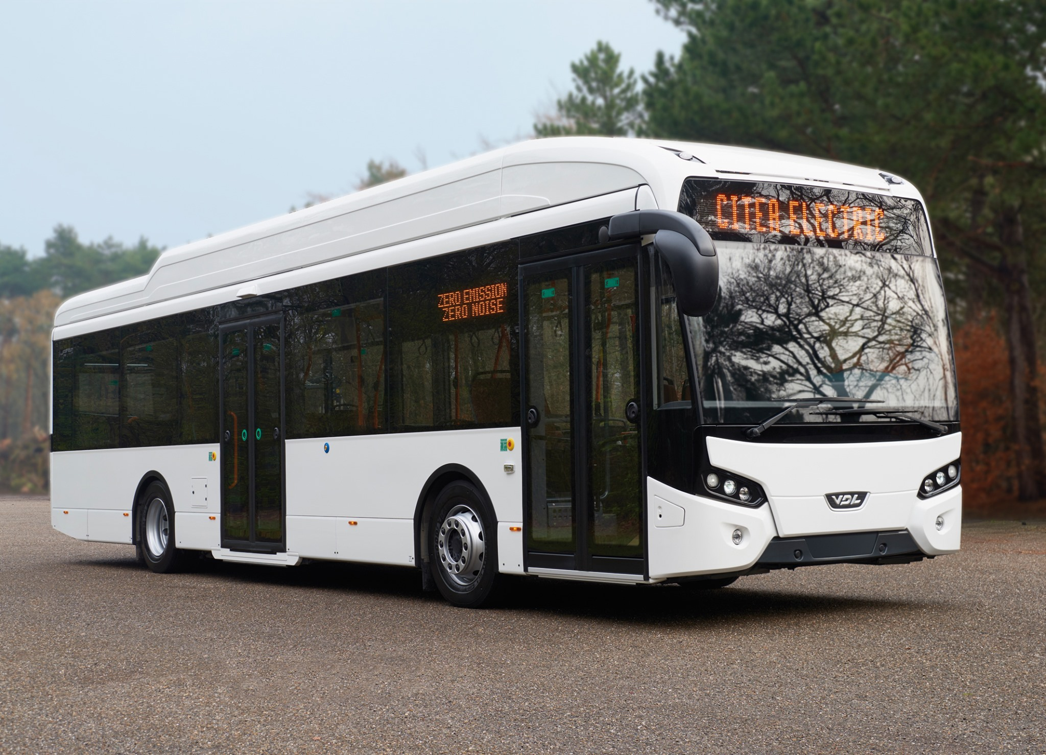 electric bus Norgesbuss vdl oslo