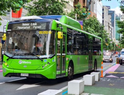 ADL and Kiwi Bus Builders Welcome NZ Funding for Electric Buses