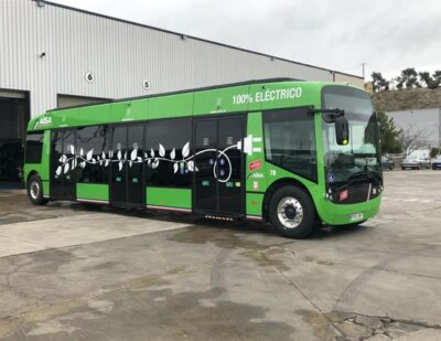 Alstom's Aptis Ebus Incorporated to Aranjuez City Urban Fleet