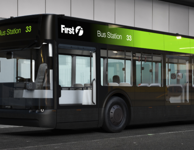 Arrival and First Bus Confirm the Start of Zero Emission Bus Trials