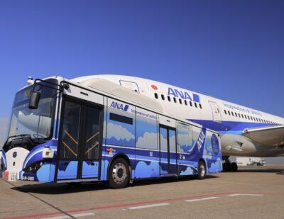 BYD Autonomous Airport Shuttle Bus Completes Trial
