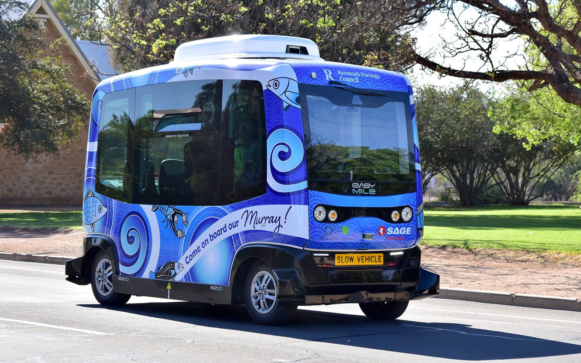 driverless bus murray