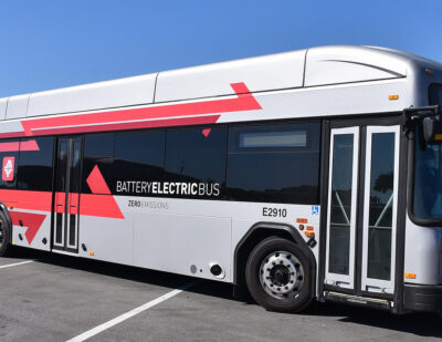JTA Welcomes Zero-Emission, All-Electric GILLIG Buses to Its Fleet