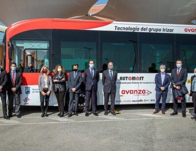 Irizar: High Capacity, Zero Emissions Autonomous Bus in Malaga