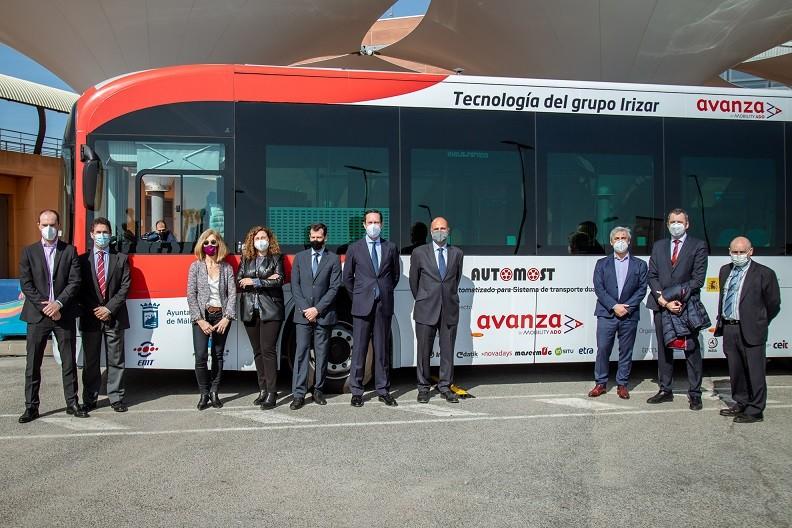 irizar autonomous bus malaga