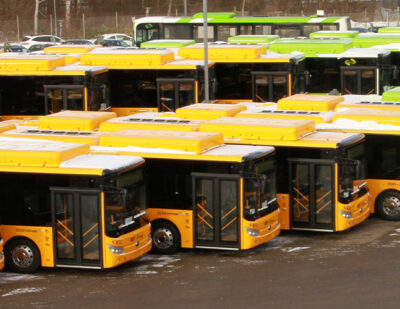 Denmark: 55 Yutong E-buses Delivered to Keolis