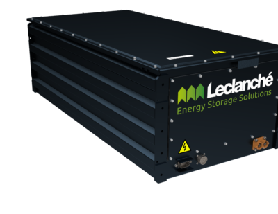 Leclanché Introduces New Modular, High Energy Battery System