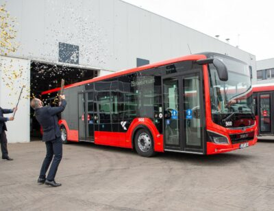 100 MAN Lion's City EfficientHybrid Buses for Kaunas, Lithuania