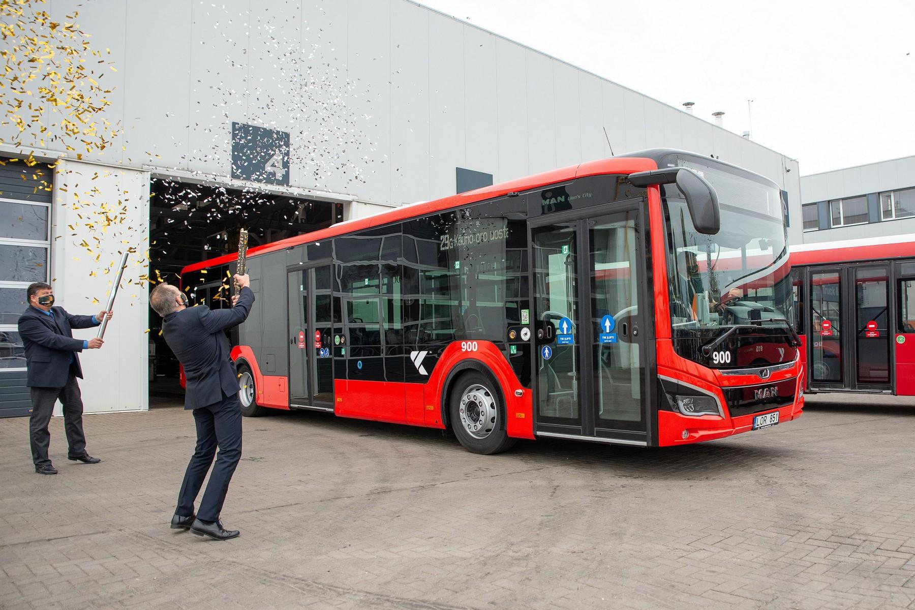 man efficienthybrid buses kaunas man buses Lithuania