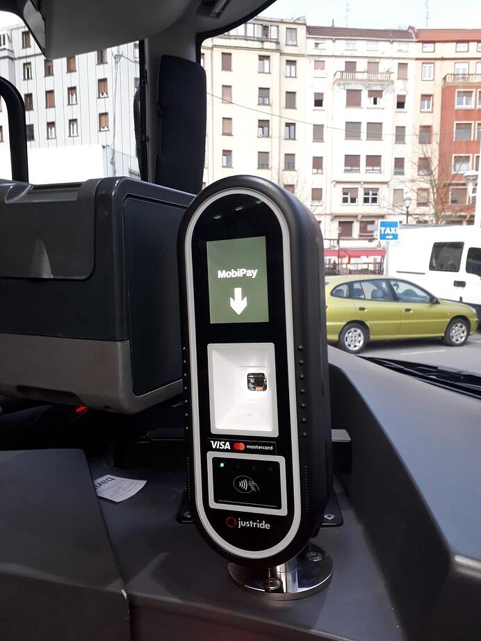 Bilbao contactless ticketing