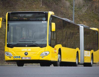 Mercedes-Benz Supplies 129 Citaro G Hybrid to Belgium's TEC Group