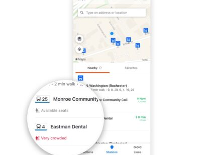 Moovit Unveils New Features: Real-Time Crowding and Accessibility