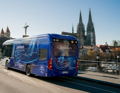Regensburg: Sustainable Public Transport with Siemens Tech
