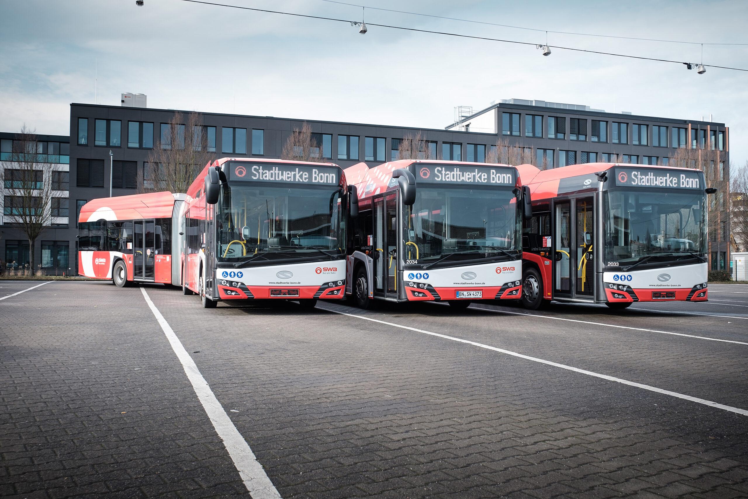 solaris electric buses bonn