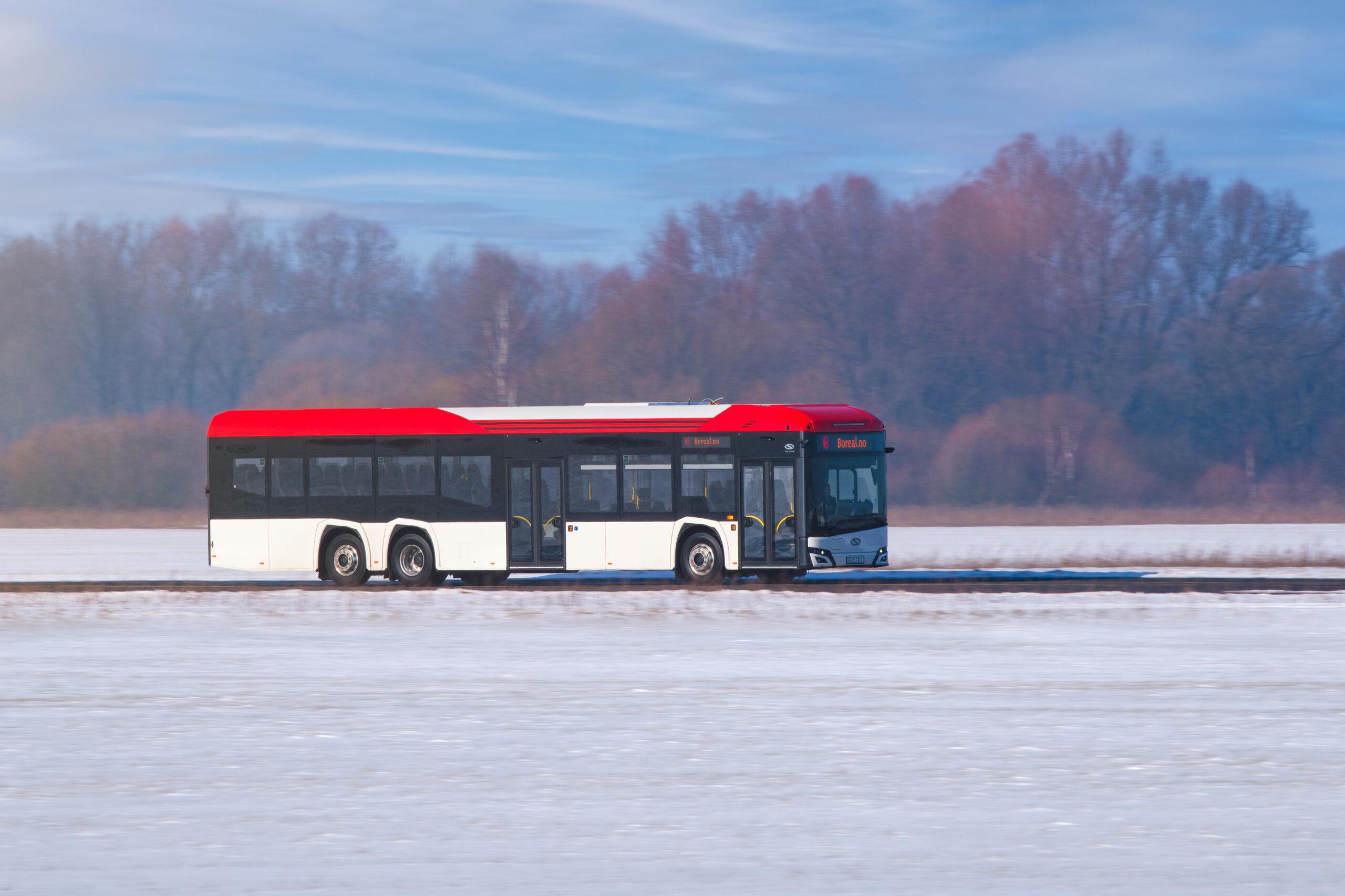 solaris electric bus Norway