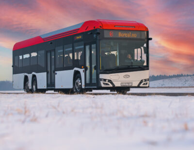 Solaris' Latest Intercity Electric Bus Being Trialled in Norway