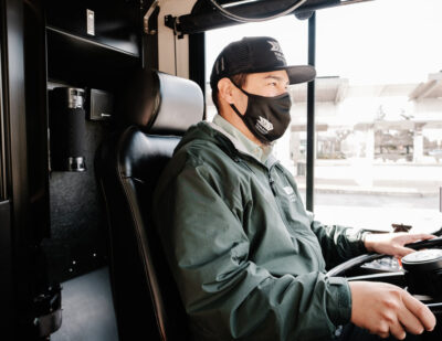 California City Protects Bus Drivers through Air Filtering Technology