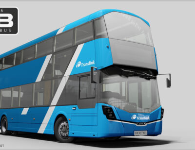 Wrightbus Equips Electric Buses with Voith Electrical Drive Systems