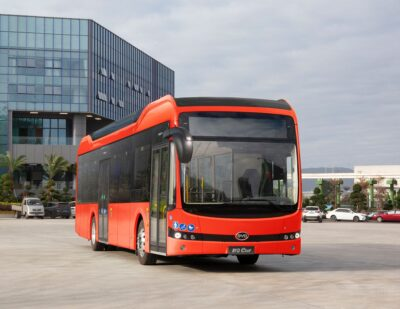 Latest Generation 12-Metre BYD eBus Fleet for Deutsche Bahn