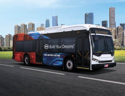 BYD K8M 35-Foot Electric Bus Aces FTA Bus Reliability Test