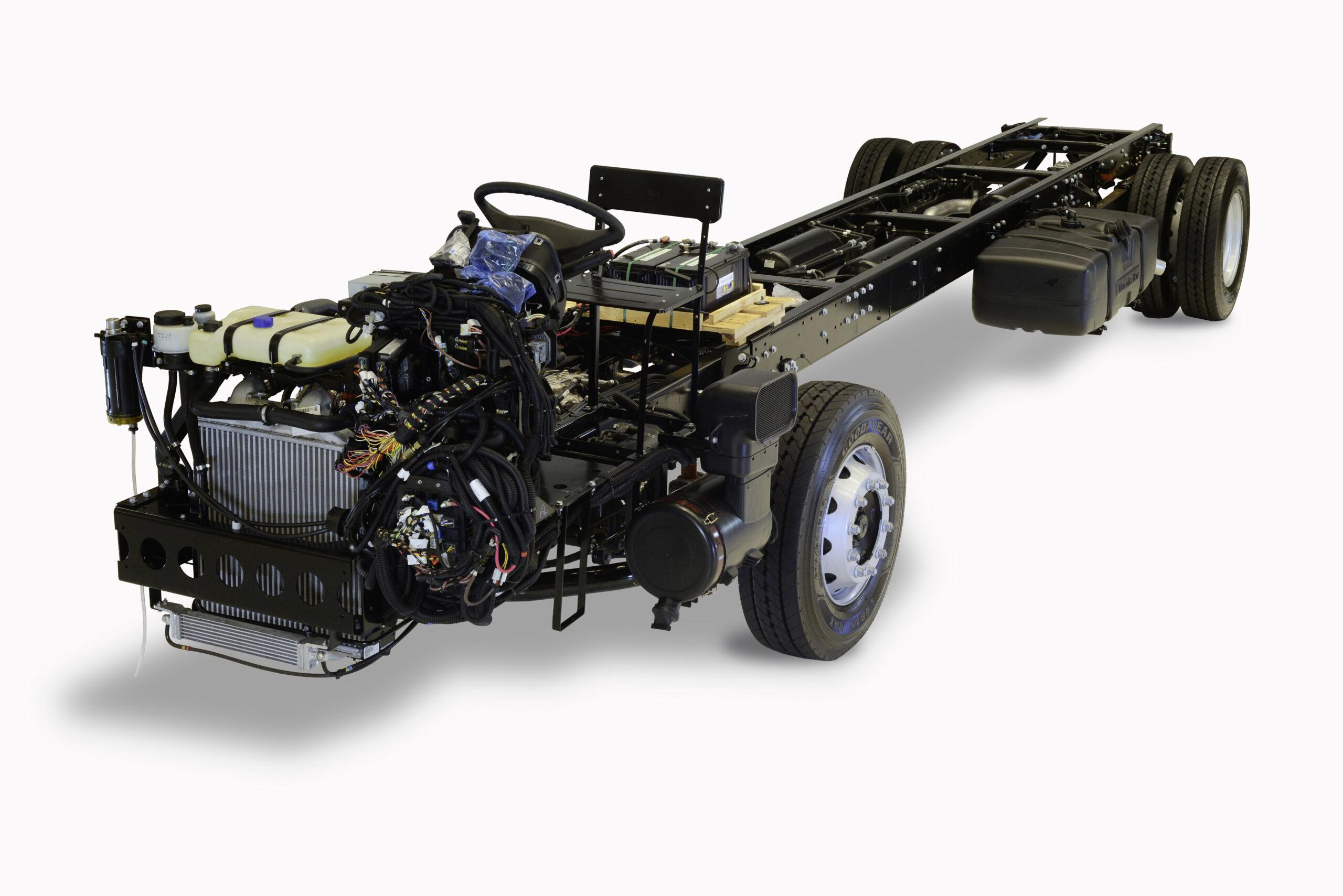 daimler Brazilian chassis