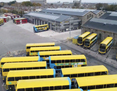 Dublin Bus Opens Broadstone Depot Following €15m Investment