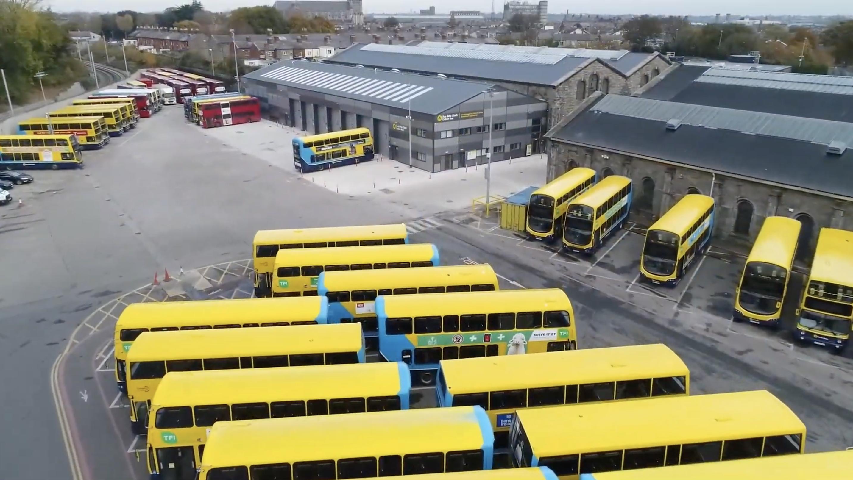 Dublin bus broadstone depot